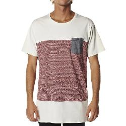 Billabong Mens Tees - Trident Jacquard Tee By Billabong