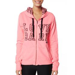 Running Bare Womens Gym Jackets - Running Bare Signature Zip Hoodie Size 10