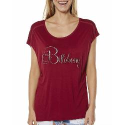 Billabong Womens Tees - Billabong Flower Bomb Tee Size 10