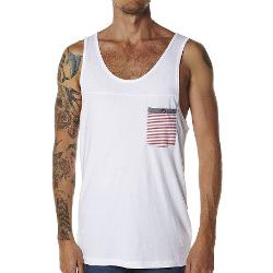 Rip Curl Mens Singlets - Rip Curl Pocket Craft Tank Size Extra Large