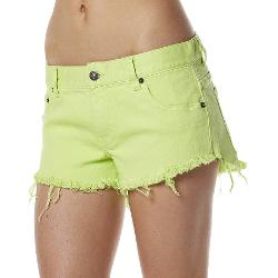 Rip Curl Womens Shorts - Rip Curl Mini Short Frayed Frenzy Size 6