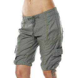 Billabong Womens Cargo Shorts - Billabong Road Less Travelled Short Size 10