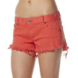 Rip Curl Womens Shorts - Rip Curl Mini Short Frayed Frenzy Size 8
