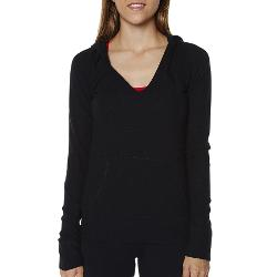 Running Bare Womens Gym Jackets - Running Bare Essential Pull Over Hoodie Size 8