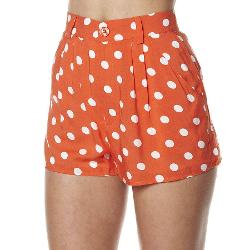 Minkpink Womens Shorts - Minkpink Co Co Polka Short Size Medium