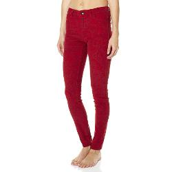 Riders By Lee Womens Skinny Jeans - Riders By Lee Mid Rise Vegas Printed Cord Size 11