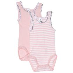 Bonds Baby Girls Clothes - Bonds Baby Signature Singlesuit 2 Pack Size 00