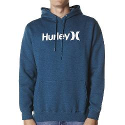 Hurley Mens Hoodies - Hurley One And Only Heather Pop Fleece Size Extra Large