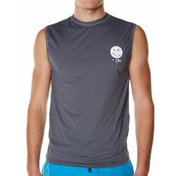 O'neill Mens Rash Vests - O'neill Mens Face Muscle Rashie Size Extra Large