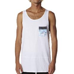 Billabong Mens Singlets - Billabong Transmit Singlet Size Medium