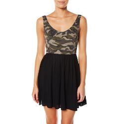 Huntingbird Womens Dresses - Huntingbird Combat Camo Dress Size 6