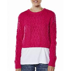 Jorge Womens Jumpers - Jorge Karma Police Cable Knit Size 10