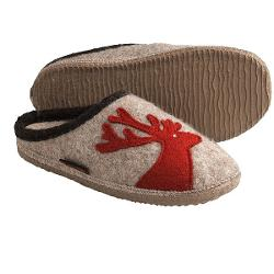 Giesswein Wels Slippers - Boiled Wool (For Women) - NATURAL ( 40 )