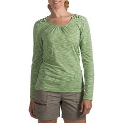 Woolrich Constellation Jersey Shirt - Scoop Neck, Long Sleeve (For Women) - AVOCADO ( M )
