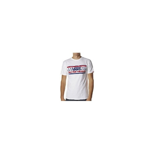 Vans Mens Tees - Vans For You Tee Size Small