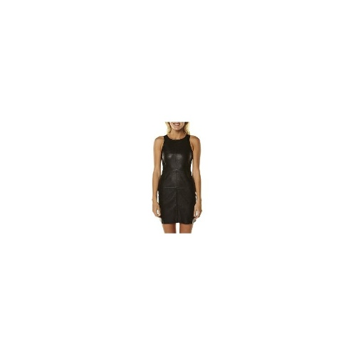 Minkpink Womens Dresses - Minkpink Get Serious Pu Dress Size Medium