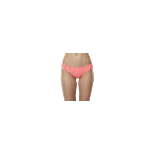 Moontide Womens Bikini Bottoms - Moontide Contours Rouched Side Hipster Separate Pant Size 12