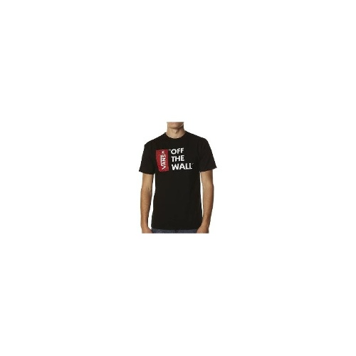 Vans Mens Tees - Vans Off The Wall Tee Size Extra Large