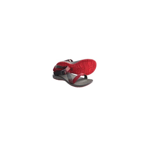 Chaco Mighty Sandals (For Men) - DEEP DIVE RED ( 11 )