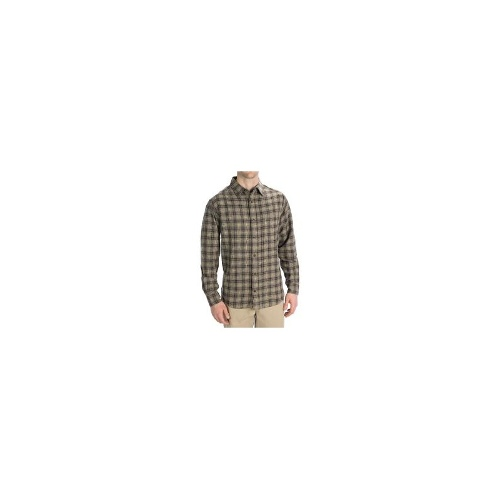 Woolrich Pioneer Flannel Shirt - Long Sleeve (For Men) - SHALE ( 2XL )