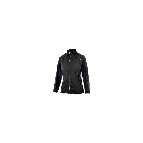 Craft Sportswear Active Run Jacket (For Women) - BLACK ( XL )