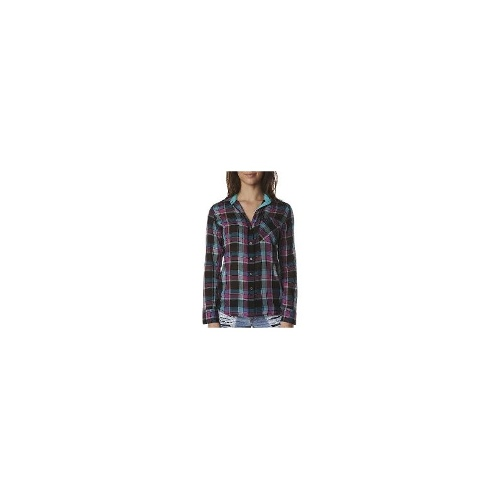 Hurley Womens Shirts - Wilson Long Sleeve Shirt By Hurley