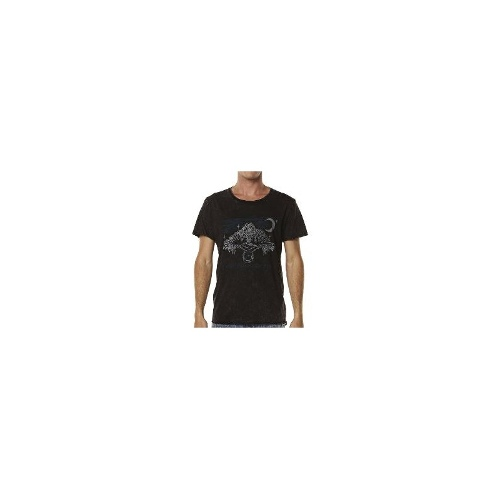 Rvca Mens Tees - Rvca Fortune Tee Size Small