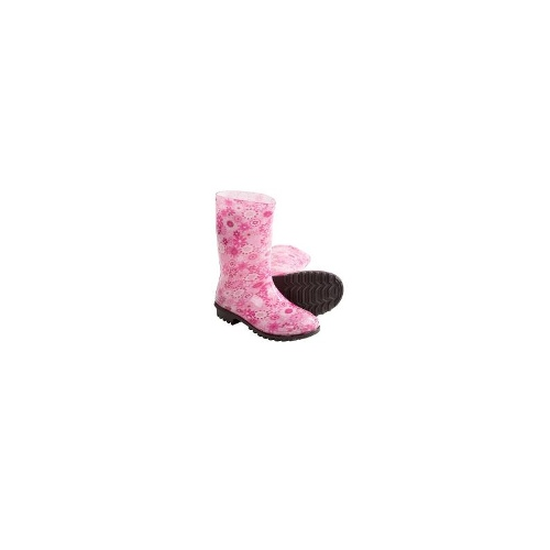 Kamik Sweet Pea Rain Boots - Waterproof, Rubber (For Kids and Youth) - PINK ( 3 )