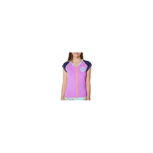 Roxy Womens Rash Vests - Roxy Wild Heart Cs Rash Vest Size Large