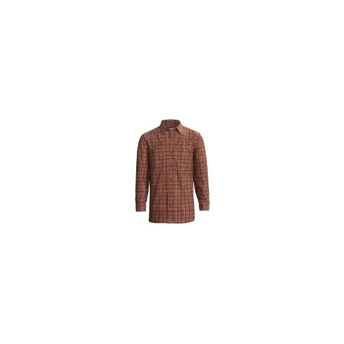 Stormy Kromer Deck Shirt - Cotton Twill, Long Sleeve (For Men) - SEQUOIA PLAID ( L )