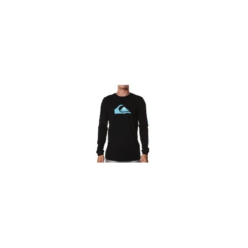 Quiksilver - Quiksilver Basic Logo Ls Tee Size Large
