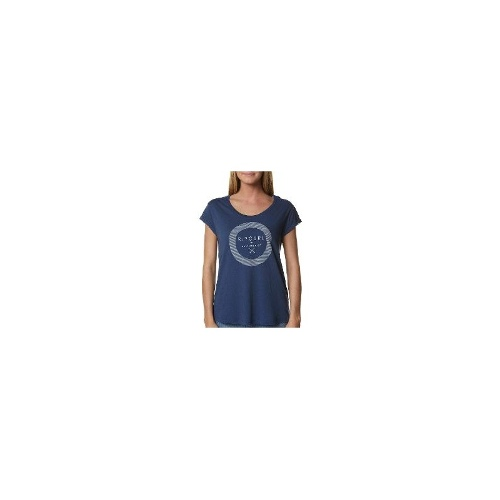 Rip Curl Womens Tees - New Womens Rip Curl Fast Forward Tee Ladies T-Shirt Top Size 6