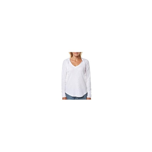 Roxy Womens Long Sleeve Tops - New Womens Roxy Harbour Nights Ls Tee Ladies T-Shirt Top Size Large