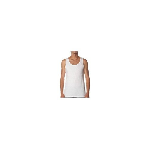Silent Theory Mens Singlets Mens Tanks - Basic Raw Edge Tank By Silent Theory