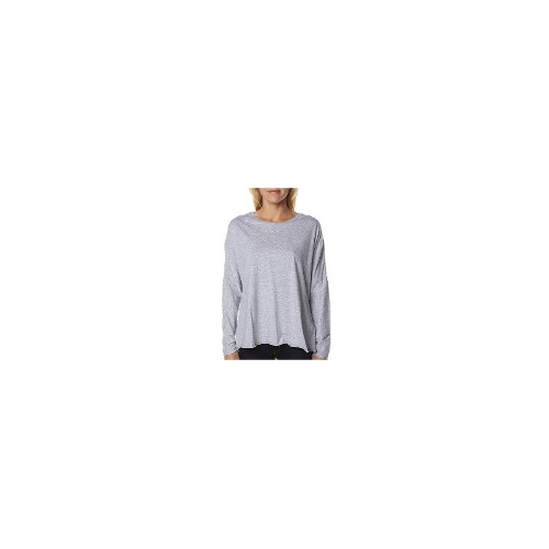 Silent Theory Womens Long Sleeve Tops - New Womens Silent Theory Back Again Ls Tee Ladies T-Shirt Top Size 6