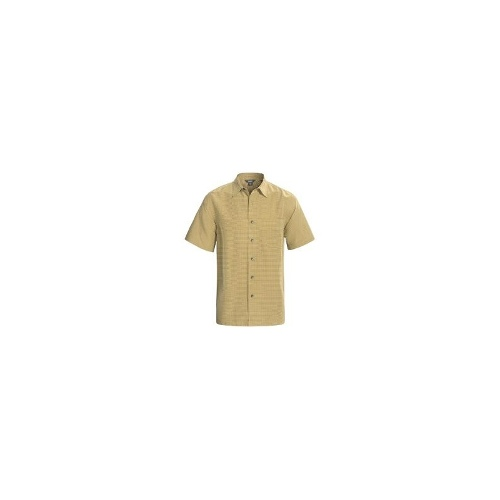 Royal Robbins Desert Pucker Shirt - UPF 25+, Short Sleeve (For Men) - TAN ( L )