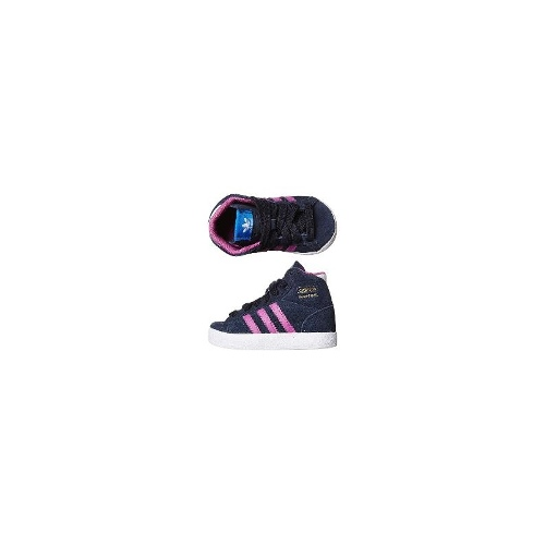 Adidas Girls Shoes - New Adidas Tots Basket Profi Shoe Girls Kids Size 6
