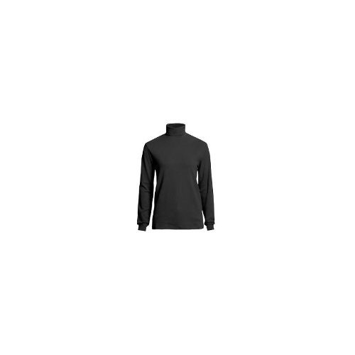 Woolrich Turtleneck Shirt - Interlock Cotton, Long Sleeve (For Women) - ECU ECRU ( S )