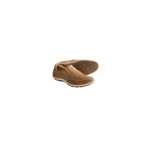 Clarks Shiply Step Shoes - Slip-Ons (For Men) - OLIVE ( 9.5 )