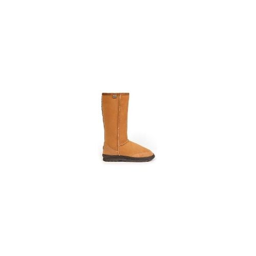 EMU Outback Hi Aust Made Womens Water Resistant Sheepskin Boots S 14 Chestnut