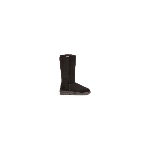 EMU Outback Hi Aust Made Womens Water Resistant Sheepskin Boots S 10 Black