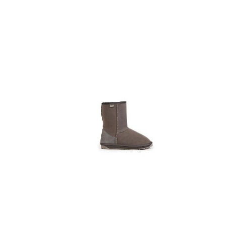EMU Stinger Lo Aust Made Womens Water Resistant Sheepskin Boots S 9 Charcoal