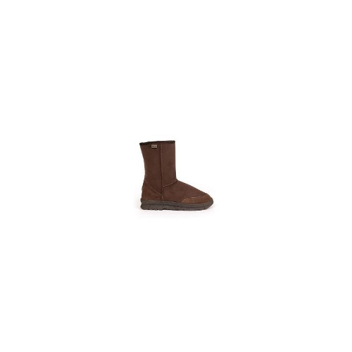 EMU Outback Lo Aust Made Womens Water Resistant Sheepskin Boots S 7 Chocolate
