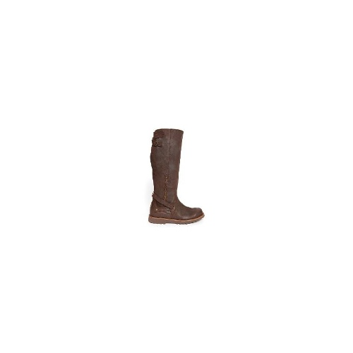 EMU Brody Womens Premium Cow Suede Boots Size 7 Chocolate