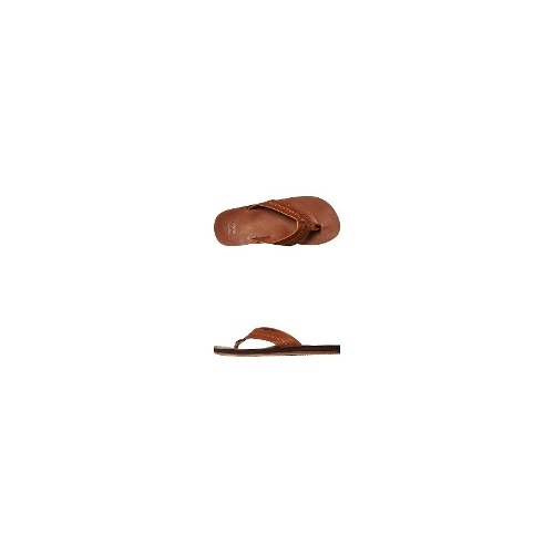 Billabong Mens Thongs - New Mens Billabong All Day Leather Thong Flip Flops Sandals Size 9