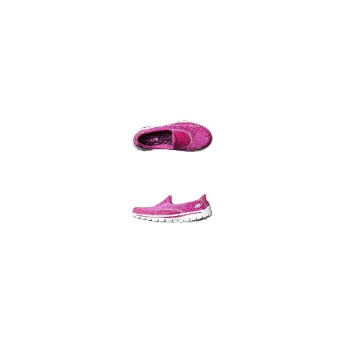 Skechers Womens Flats - New Womens Skechers Go Walk 2 Spark Flat Ladies Shoes Size 11