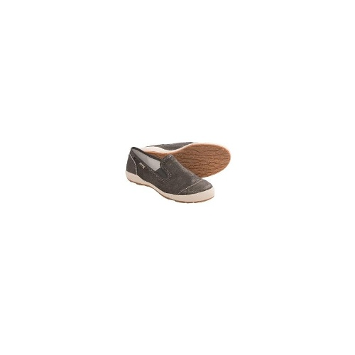 Josef Seibel Caspian 06 Shoes - Leather, Slip-Ons (For Women) - GRAPHITE ( 41 )