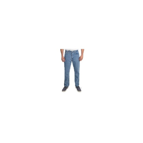Regular Fit Straight Leg Jeans (For Men) - BARK ( )