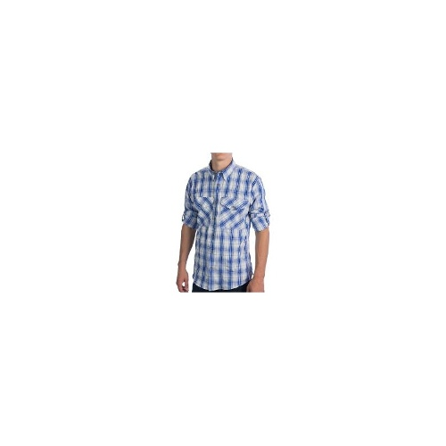 Filson No. 3 Fishing Shirt - UPF 50, Long Sleeve (For Men) - BLUE PLAID ( XL )