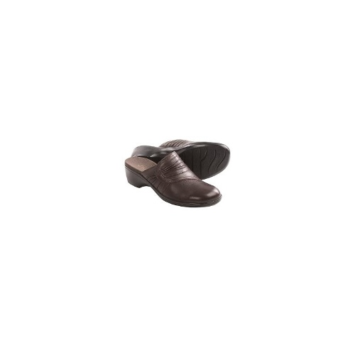 Clarks May Crew Clogs (For Women) - BROWN ( 8 )